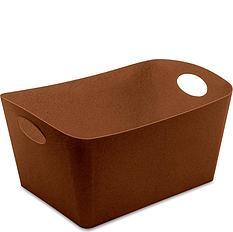 Pojemnik Organic Boxxx L brązowy