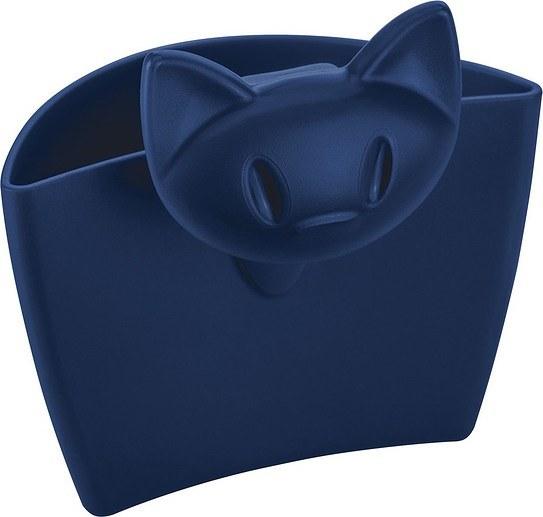Pojemnik wielofunkcyjny na kubek Mimmi welwetowy błękit