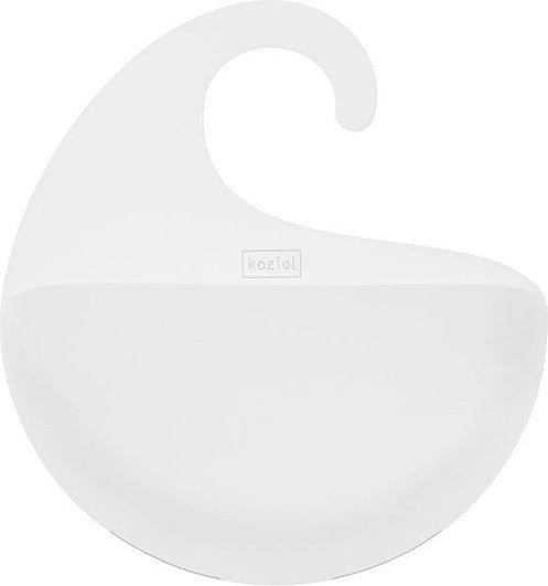 Półka łazienkowa Surf biała