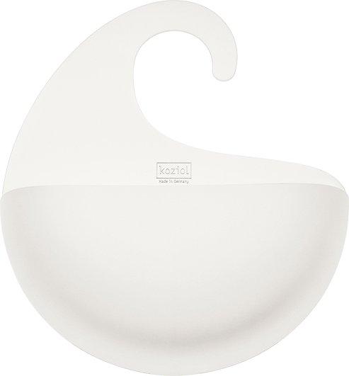 Półka łazienkowa Surf XL biała