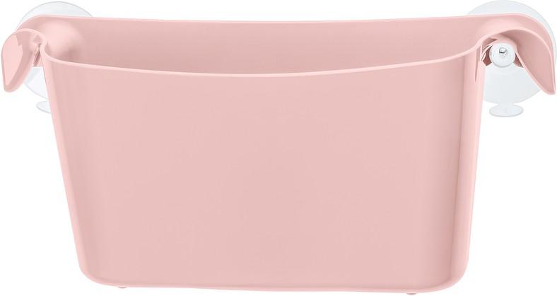 Półka prysznicowa Boks pastelowy róż