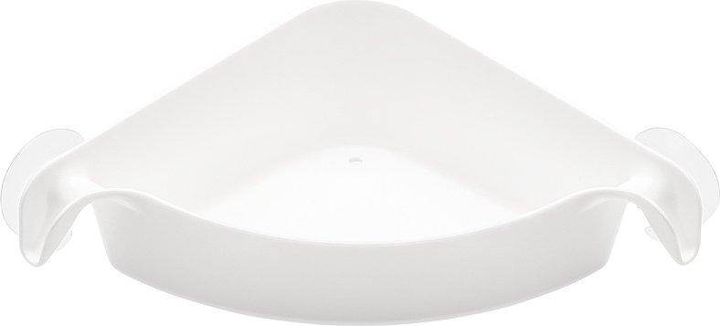 Półka prysznicowa narożna Boks biała