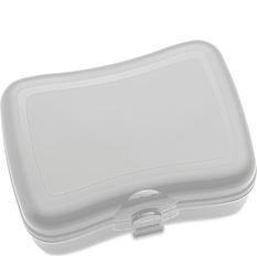 Pudełko na lunch Basic jasnoszare