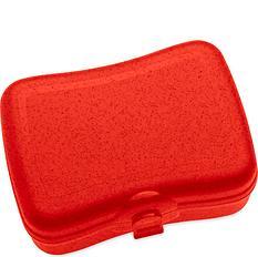 Pudełko na lunch Basic Organic czerwone