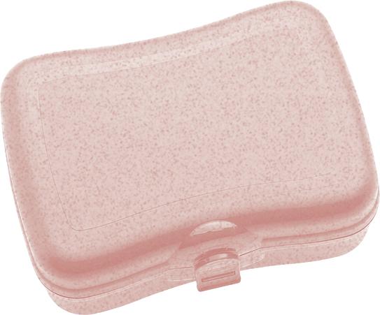 Pudełko na lunch Basic Organic różowe