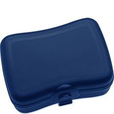 Pudełko na lunch Basic welwetowy błękit
