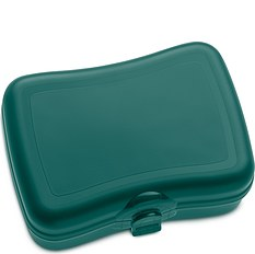 Pudełko na lunch Basic zieleń emerald