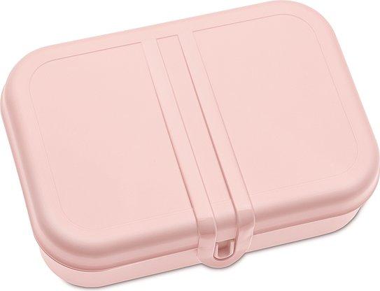 Pudełko na lunch Pascal L pastelowy róż