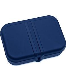 Pudełko na lunch Pascal L welwetowy błękit