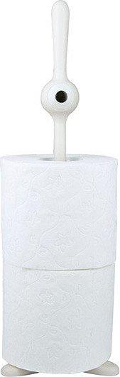 Stojak na papier toaletowy Toq biały