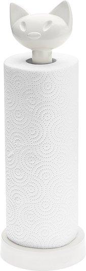 Stojak na ręczniki papierowe Miaou biały