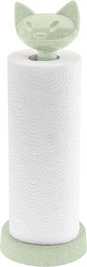 Stojak na ręczniki papierowe Miaou Organic zielony
