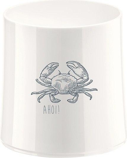 Szklanka Cheers biała z ilustracją krab