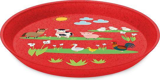 Talerz dziecięcy Connect Organic Farm 20,5 cm