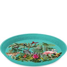 Talerz dziecięcy Connect Organic Jungle 20,5 cm