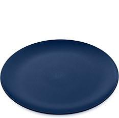Talerz płaski Rondo welwetowy błękit