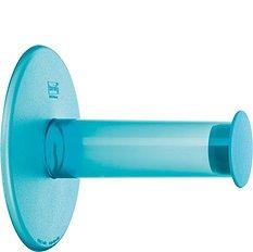 Wieszak na papier toaletowy Plug'N Roll turkusowy