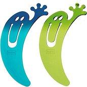 Zakładki Jimini 2 szt. niebieski przezroczysty, zielony