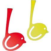 Zakładki Pi:P 2 szt. oliwkowa przezroczysta i czerwona