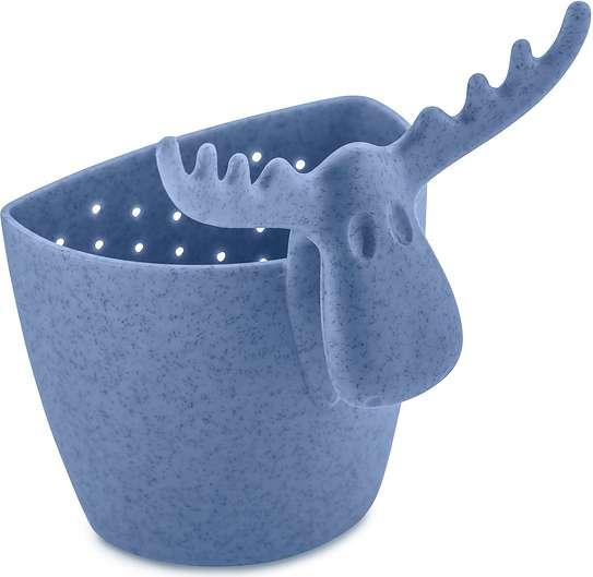 Zaparzaczka do herbaty Rudolf Organic niebieska