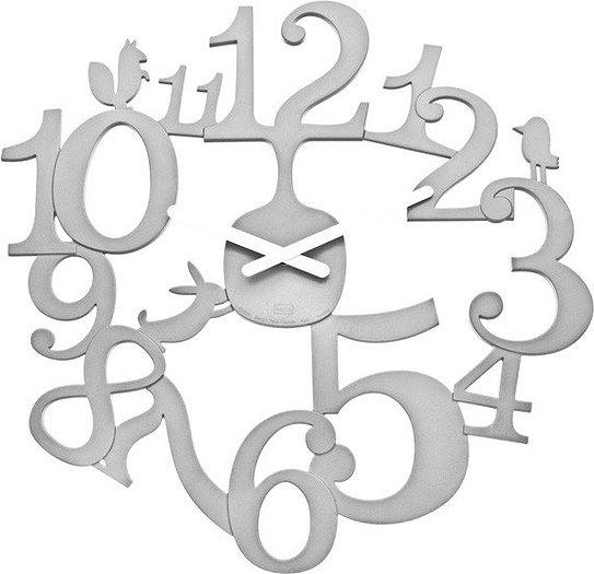 Zegar ścienny Pi:P biały