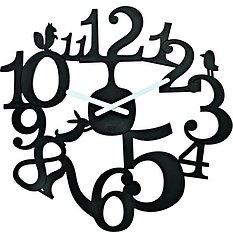 Zegar ścienny Pi:P czarny