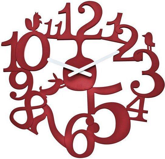 Zegar ścienny Pi:P malinowy