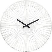 Zegar ścienny Piano biały