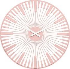 Zegar ścienny Piano pudrowy róż