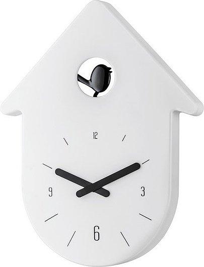 Zegar ścienny Toc Toc biały