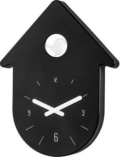 Zegar ścienny Toc Toc czarny