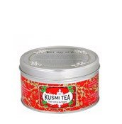Herbata zielona Strawberry puszka 125g - małe zdjęcie