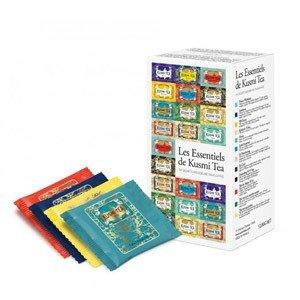 Herbaty Kusmi w zestawie Tea Essentials 24 torebki