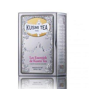Herbaty Kusmi w zestawie The Irresistibles Essentials 24 torebki