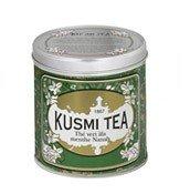 Herbata zielona z miętą Spearmint puszka 250g - małe zdjęcie