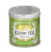 Herbata zielona Assam puszka 250g - małe zdjęcie