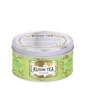 Herbata zielona Genmaicha puszka 100g - małe zdjęcie