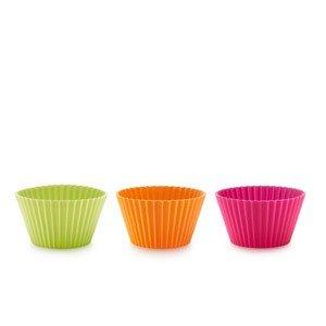 Foremka do muffinek amerykańskich kolorowa 6 szt.