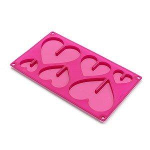 Forma do czekolady serca