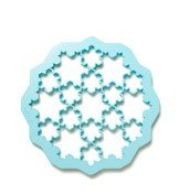Forma do wykrawania ciasteczek Puzzle Snow - zdjęcie 1