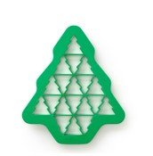 Forma do wykrawania ciasteczek Puzzle Choinka - zdjęcie 1