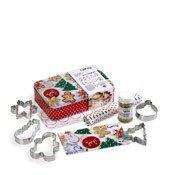 Zestaw świąteczny do pieczenia pierniczków i ciasteczek Lekue - zdjęcie 1
