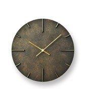 Zegar ścienny Quaint ciemnorbązowy - małe zdjęcie