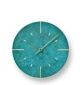 Zegar ścienny Orb rdzawozielony - małe zdjęcie