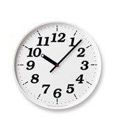 Zegar ścienny Dot cyfry arabskie