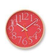 Zegar ścienny AY Clock czerwony