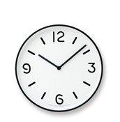 Zegar ścienny Mono Clock biały - małe zdjęcie
