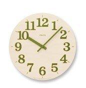 Zegar ścienny Prato zielony - małe zdjęcie