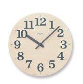 Zegar ścienny Prato szary - małe zdjęcie