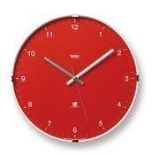 Zegar ścienny North czerwony - małe zdjęcie